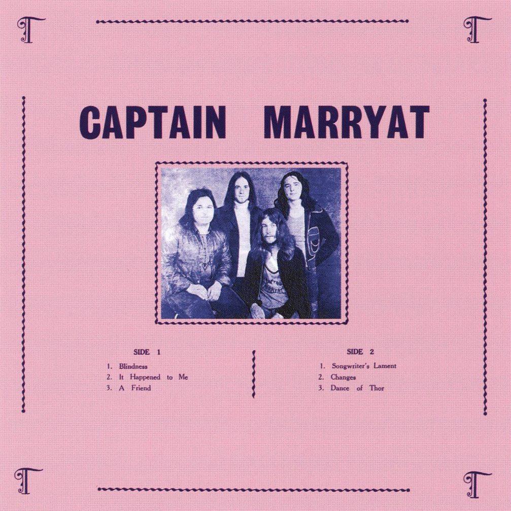 Captain Marryat - Front