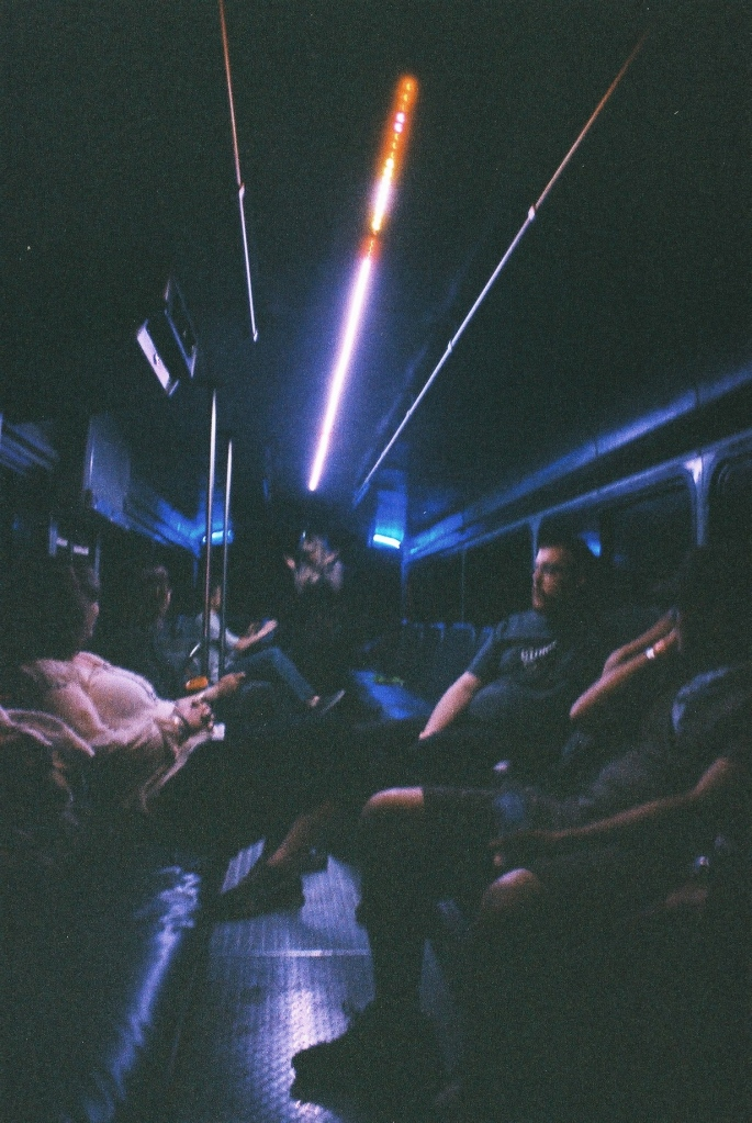 "The dreaded ""Party Bus"""